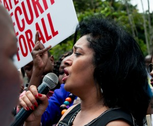 Esther Passaris Addressing The Crowd